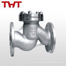 válvula de retención del pistón de la bola de gas del instrumento del tipo bridado techno
