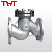 techno flanged type instrument gas ball piston lift check valve