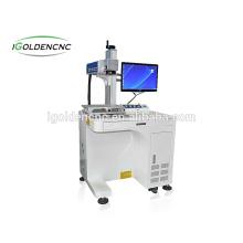 Óptica 10 W 20 W 30 W máquina de marcação a laser de fibra de jóias de prata com mini fibra de cor a laser máquina de marcação