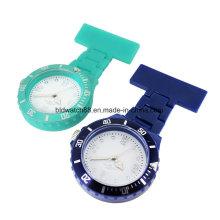 Relógio médico quente do broche da enfermeira dos relógios de quartzo da venda para enfermeiras do doutor