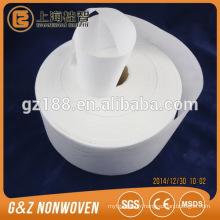 100% cupro tissu Spunlace non tissé énormes rouleaux de haute qualité