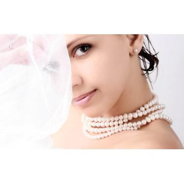 natürliche Perle Faser Whitening Gesichtsmaske Fabrik Lieferant