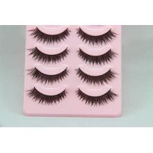 Custom Private Label cheveux humains Cheap Sale Colorful False Eyelashes