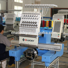 """Elucky Computerized embroidery machine price with 7"""" touch screen for cap t-shirt shoes embroidery"""