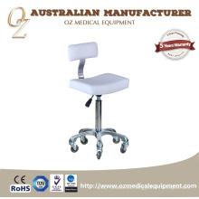 Taburete de salón portátil de belleza Taburete de silla modificada para requisitos particulares de la silla del taburete con el respaldo