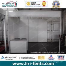 Customized Exhibition Booth 3mx3m Standard Shell Sheme Booth for Exhibition