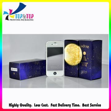 Печатная коробка UV Coating для упаковки бумаги высокого качества