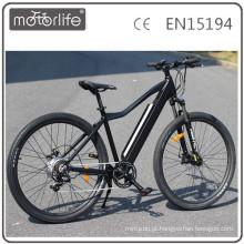 MOTORLIFE / e bicicleta pedelec 250w mountain e bicicleta, moto elétrica grande poder