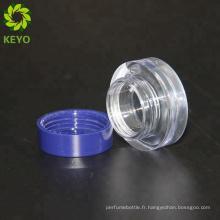 Emballage cosmétique en plastique pot cosmétique visage vide fabricant de poudre compacte