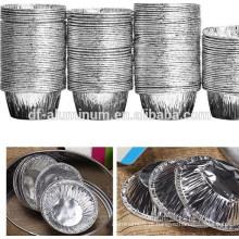 Indústria da China fornecem pequeno copo de fermento descartable de alumínio