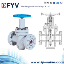 API 6A Flow Line Cast Iron Slab Gate Valve