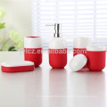 accesorios de baño de cerámica con base de silicona