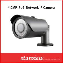 Caméra de sécurité imperméable à l'eau CCTV en plein air 4MP Poe IP Network