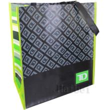 Kundenspezifische Non-Woven 100% RPET Wiederverwendbare Tasche (hbnb-538)