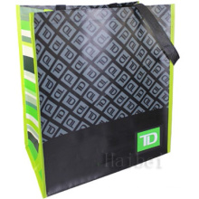 Custom Non-Woven 100% RPET Reusable Bag (hbnb-538)