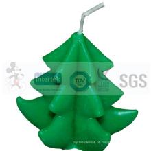 Decorações da vela do Natal da qualidade de Hight