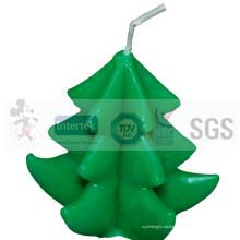 Decoraciones de vela de Navidad de alta calidad