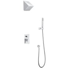 Set de ducha mezcladora termostática oculta