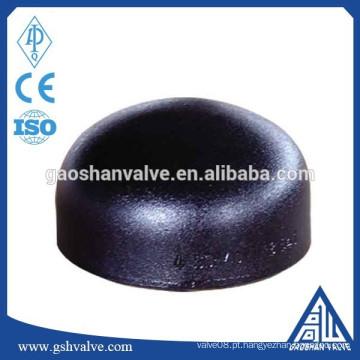 Solda de aço carbono na tampa da tubulação
