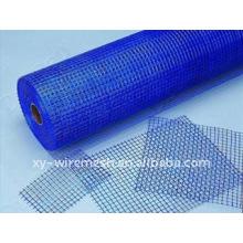 Malla de alambre de plástico y tela cruzada