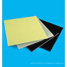 Hoja de resina de fibra de vidrio epoxy negra Fr4 G10