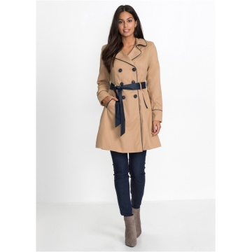 Damen eleganter Trenchcoat