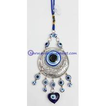 Blue Evil Eye Car Hanging Ornament with evil eyes Feng Shui Protection Evil Eye Bead