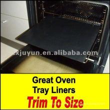 Estera de horno reutilizable antiadherente de fibra de vidrio