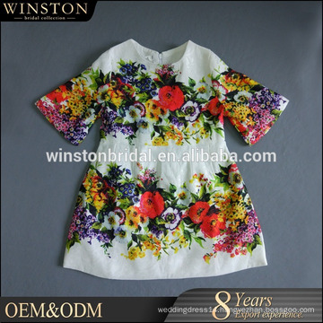 Alibaba Dresses Supplier lovely 100% cotton girls sets