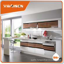 Good Reputation factory directly display use kitchen cabinet for Philippines market