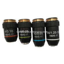 High Quality Of Objective Microscope 10x Lens