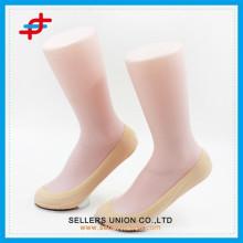 Damen Nylon Material Seide Socke mit Hautfarbe benutzerdefinierte Socken