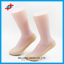 Cheap china womens summer sheer transparent ankle support 100% nylon sock