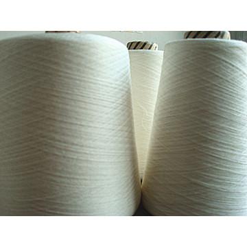 Viscose Silk Blanched Yarn Raw White