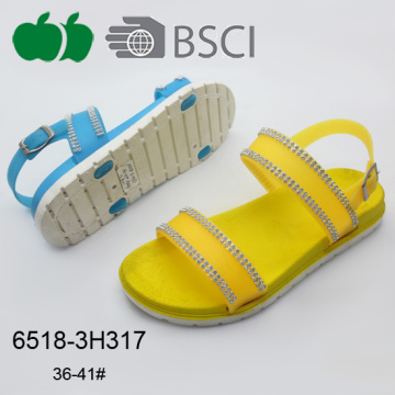 2016 Hot Sale Fashion Summer Womens Flat Fancy Sandals