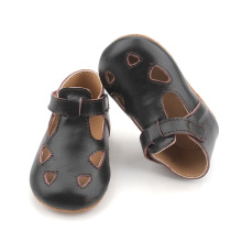 Sandali in pelle T Bar Mary Jane Baby Shoes