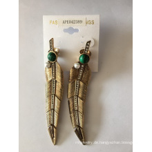 Leaf Form Ohrring hochwertigen Sommer-Mode Schmuck