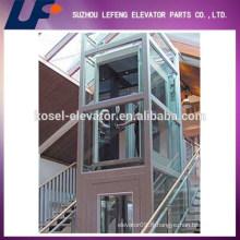 Stable et faible bruit panoramique Home Glass Elevator avec une bonne qualité