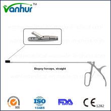 Instrumentos de Sigmoidoscópio e Rectoscopia Pinça de Biopsia Direita