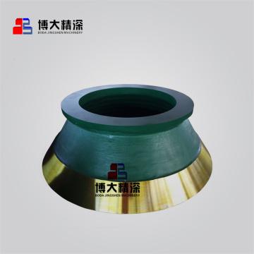 Nordberg concasseur à cône pièces HP500 bol liner concave