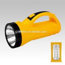 Hand-held Lâmpada de Busca LED, WD-511 Adventure Hunting Light iluminação do jardim ao ar livre