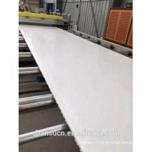 Panneau blanc de mousse de PVC imprimable pour le signe, panneau de mousse de croute de PVC (panneau de celuka de PVC)