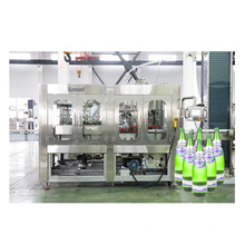 Machine d'emballage de remplissage de bouteilles en verre