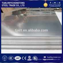 0.5mm 4ft x 8ft 2B BA Mirror surface 201 stainless steel plate