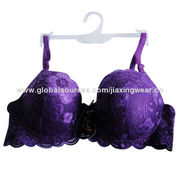 Hot sale new design girls padded bra, OEM orders are welcome