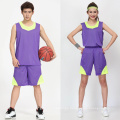 2017 Thailand unisex reversible OEM custom sublimation printed basketball jersey basketball uniform men sportswear sets