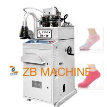 máquina de tricô meias