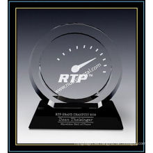 "Placas de Crystal Award / Circle Award 7.4 ""H (NU-CW731)"