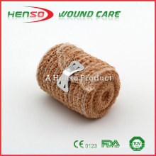 HENSO Hot Sale Skin Color Elastic Crepe Bandage