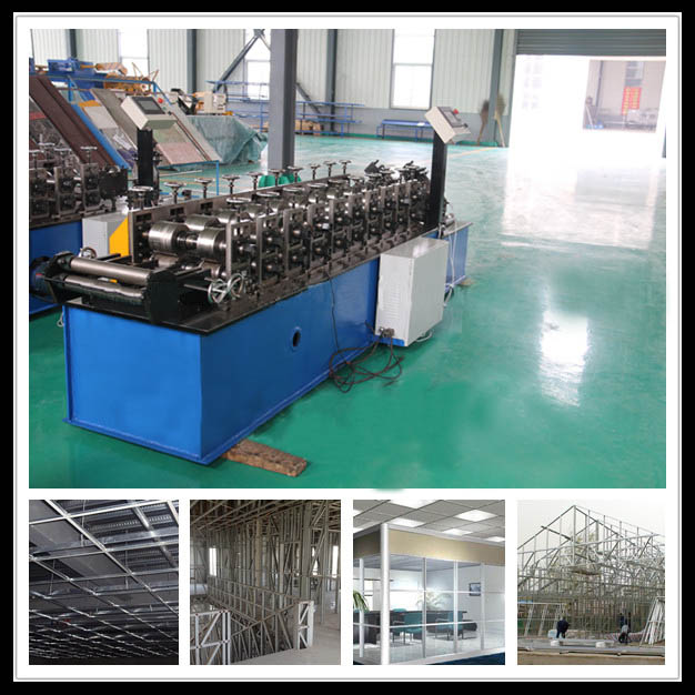 Ceiling U shaped Roll Forming Machine